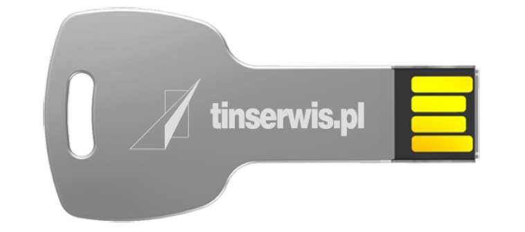 Pendrive 8GB tinserwis