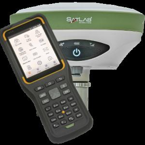 ODBIORNIK GPS RTK GIS SATLAB SL900 PLUS KONTROLER SATLAB SHC30
