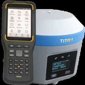ODBIORNIK GPS RTK TITAN TR7 PLUS KONTROLER THC30