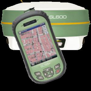 ODBIORNIK GPS RTK GIS SATLAB SL600 PLUS KONTROLER SATLAB SL55