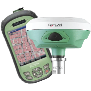 ODBIORNIK GPS RTK GIS SATLAB SL800 PLUS KONTROLER SATLAB  SL55 PLUS