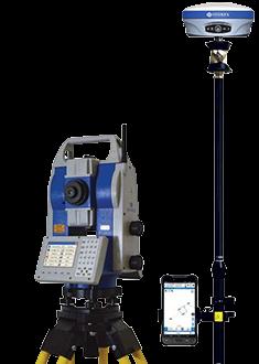 Stacja zrbotoyzowana Stonex R80 plus GPS Stonex S900A z kontroleram i oprogramowaniem Cube-e