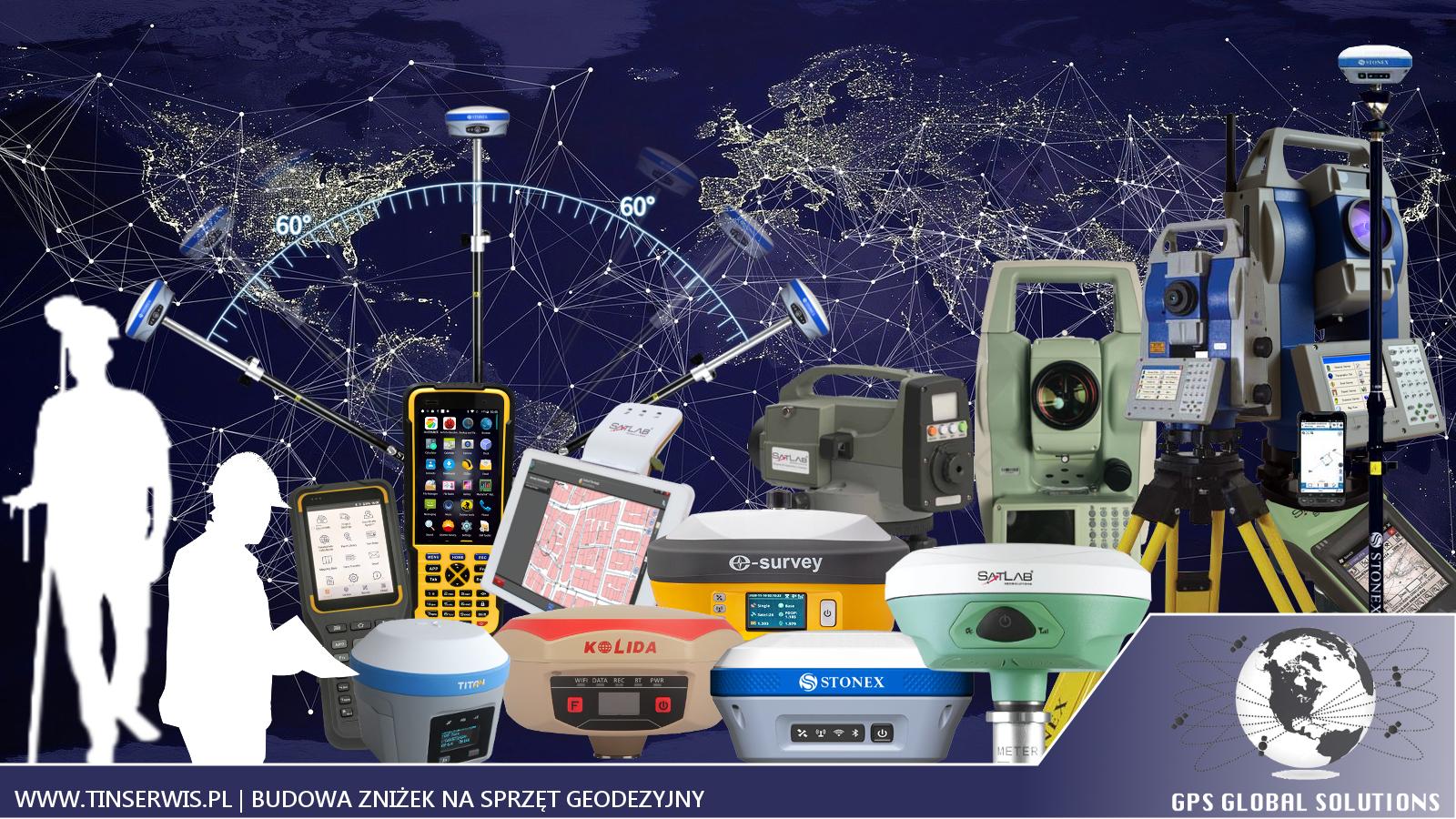 promocje na sprzęt geodezyjny: satlab, kolida, stonex, titan, e-survey