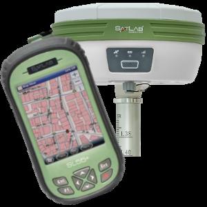 ODBIORNIK GPS RTK GIS SATLAB SL700 PLUS KONTROLER SATLAB  SL55 PLUS
