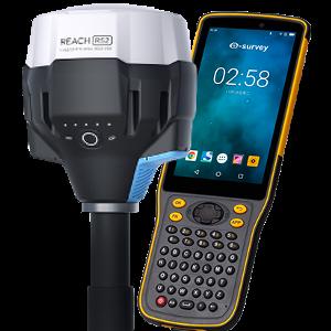 ODBIORNIK GPS RTK EMLID REACH RS2 Z KONTROLEREM E-SURVEY P8II