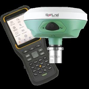 ODBIORNIK GPS RTK GIS SATLAB SL800 PLUS KONTROLER SATLAB SHC30