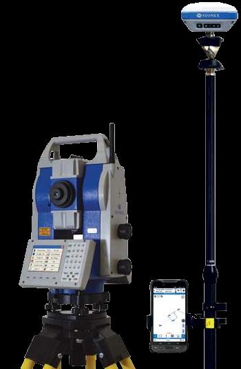 Stonex One pole Tachimetr robotyczny R80 plus GNSS S850A